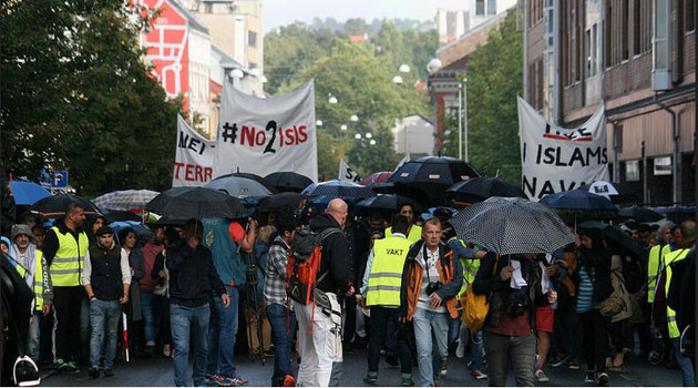 """oslo muslim 'immigrant fatima tetouani says that """"grønland is more muslim  """"norway: oslo police: 'we have lost the  the women are being raped at night in oslo,."""
