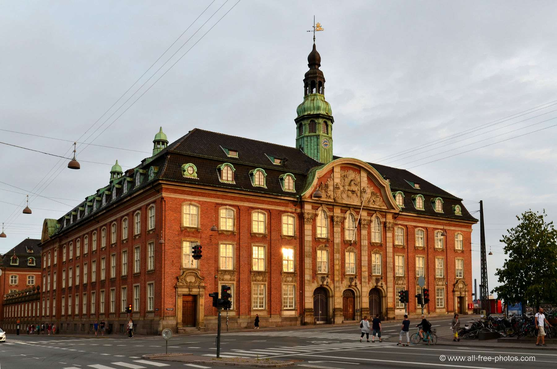 Classical post office in copenhagen will be converted into for Hotel in kopenhagen