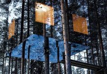 World's Largest treehouse hotel room in Sweden