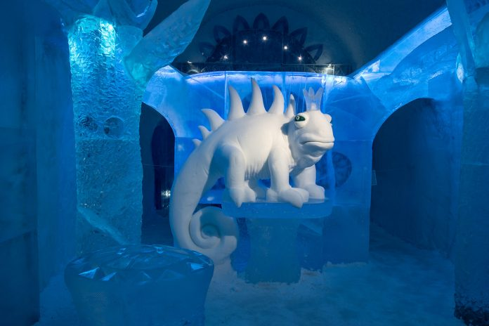 The Coldest Hotel in Sweden