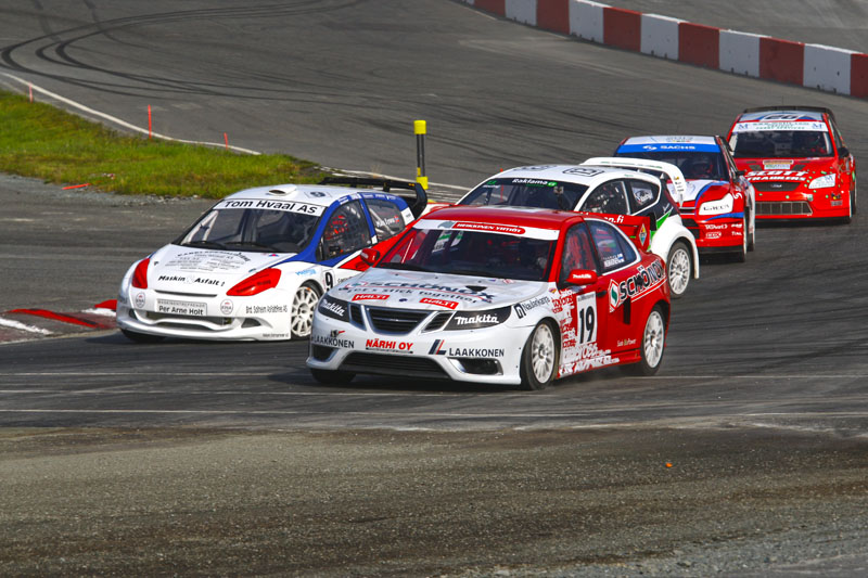 European rallycross Championship, Hell, Norway, 24-26.06.11