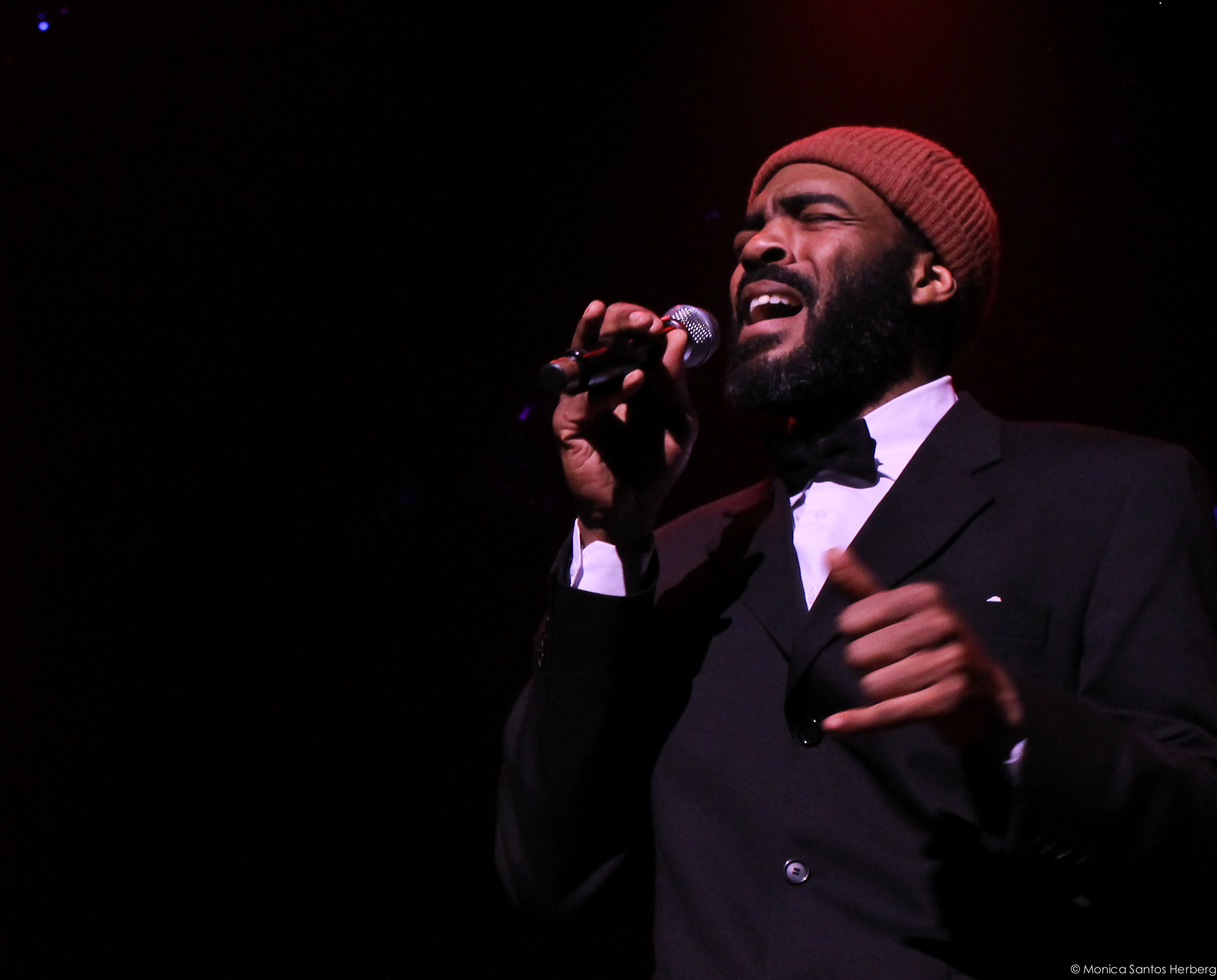 "Jason Nemor Harden in ""Motown Revisited"" at Norwegian Opera. Photo: Monica Santos Herberg"