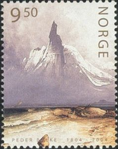 161114-Peder-Balke-painting-on-norwegian-stamp