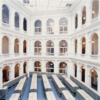 University Library in Hamburg