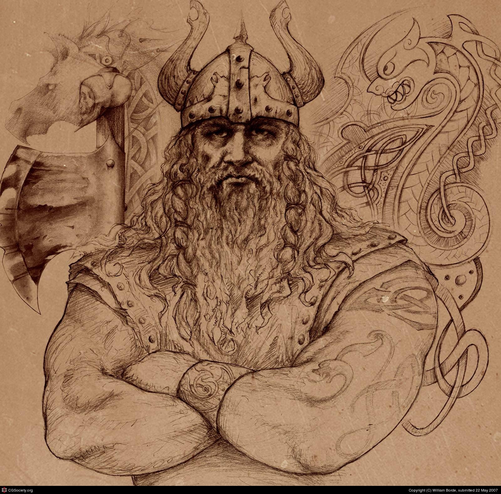 Harald Fairhair by William Borde
