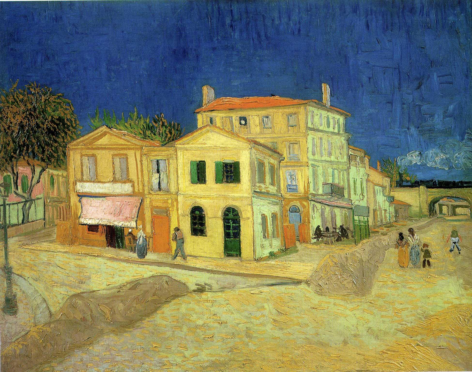 The Yellow Room, Vincent van Gogh 1888