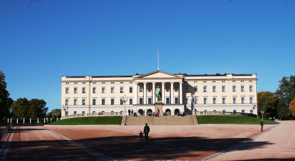 Royal Palace Oslo. Photo: Tor Kjolberg