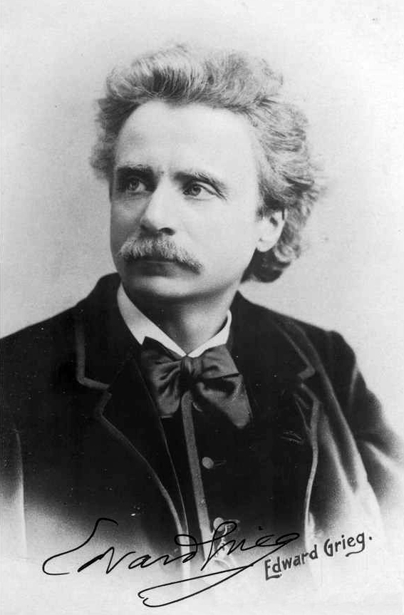 Edvard Grieg by Elliot and Fry
