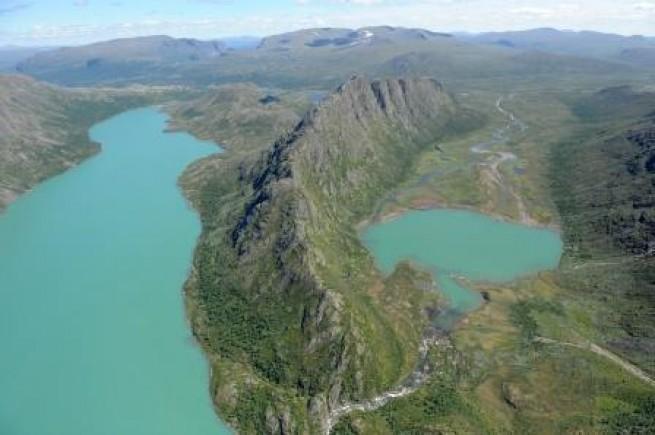 Jotunheimen seen from above - Discover Scandinavia