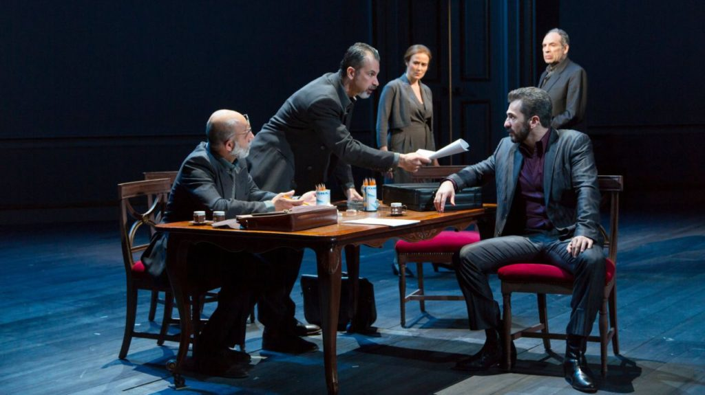 The Oslo Accords Made Into Thrilling Broadway Production