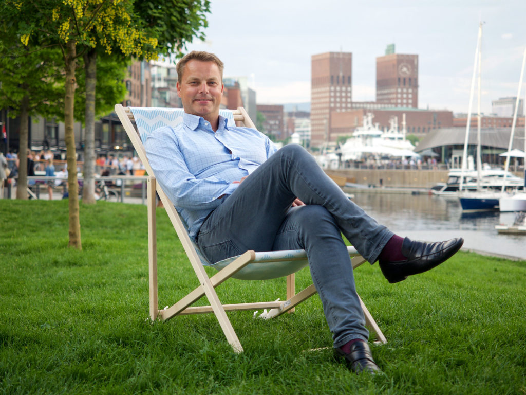 The Sky is No Limit for Norwegian Entrepreneur