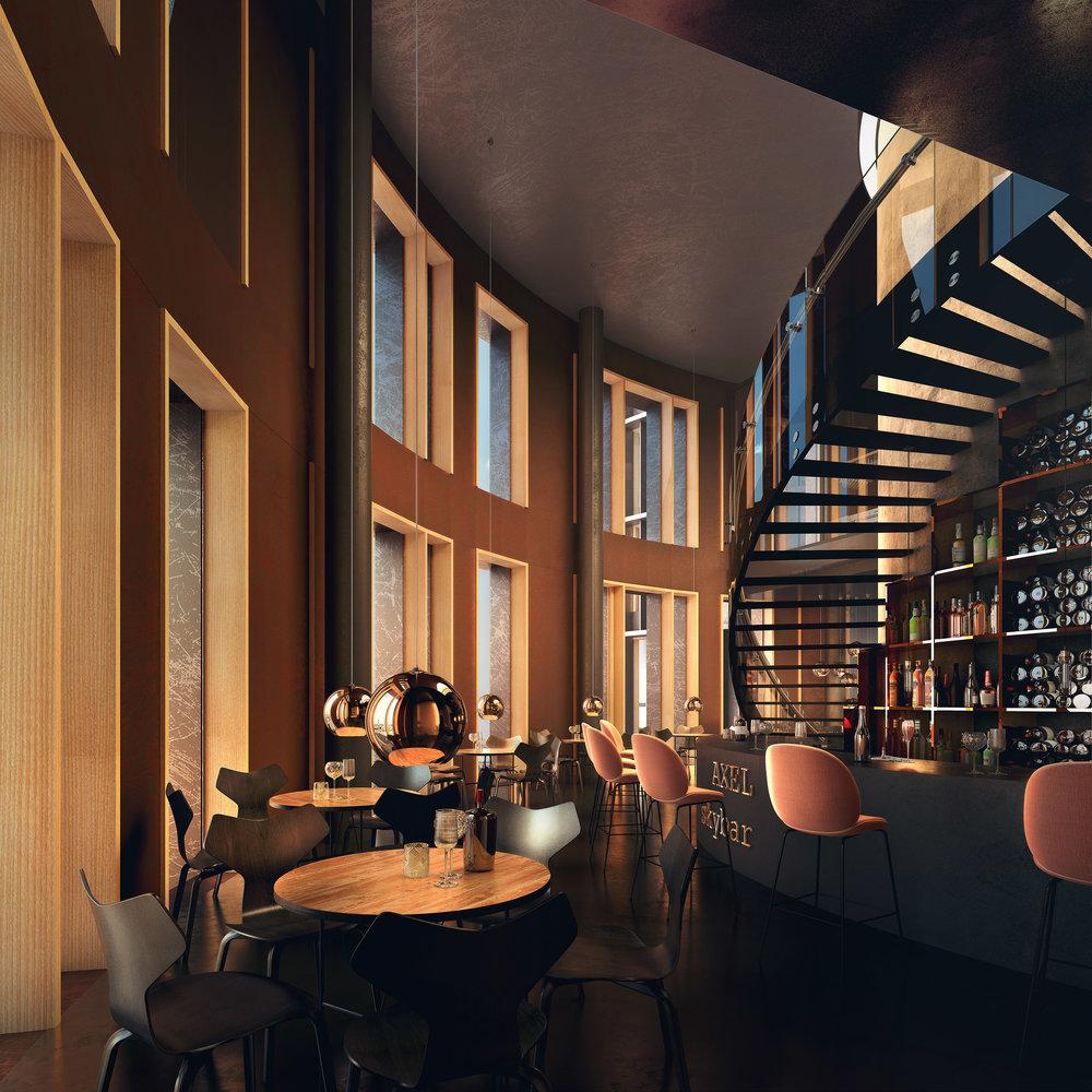 New Skyline Restaurant in Copenhagen
