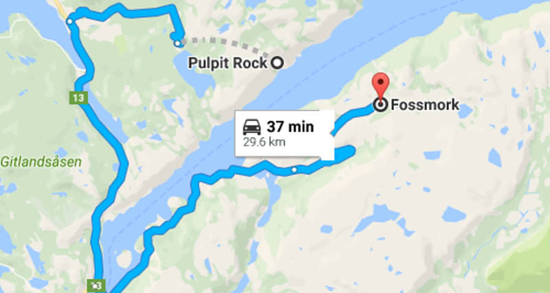 Tourists to the Famed Pulpit Rock in Norway Fooled by Google ...