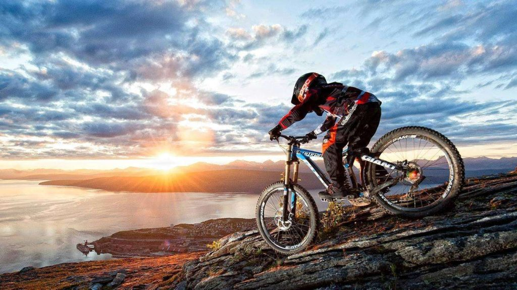 High Mountain Biking in Northern Norway