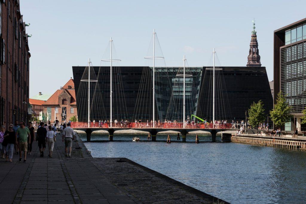Circle Bridge in Copenhagen