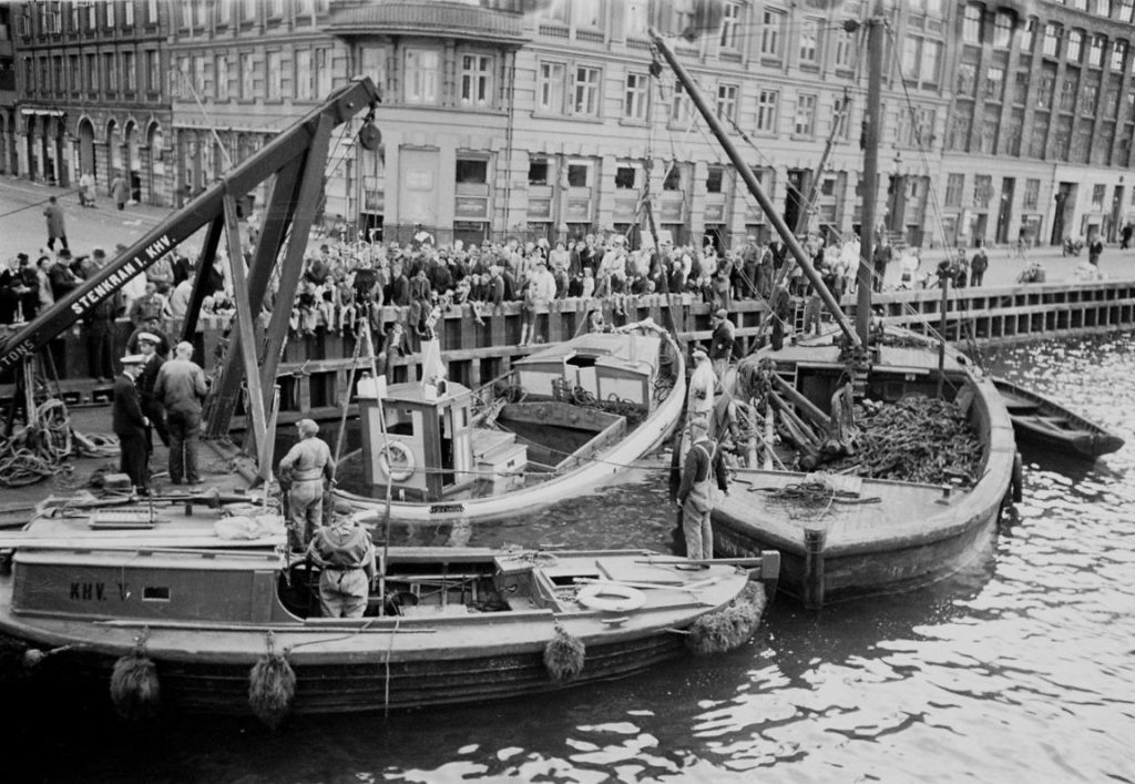 Copenhagen's Post War Nyhavn