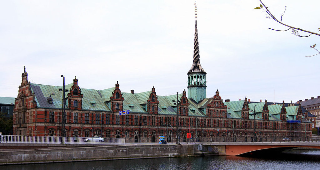 Historic Trading Post in Copenhagen