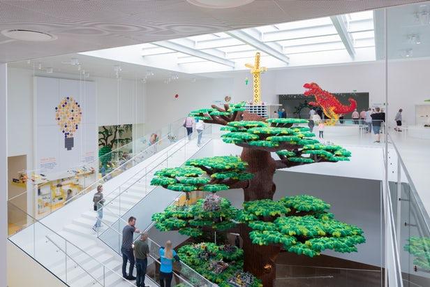 New Lego House Opened in Billund, Denmark
