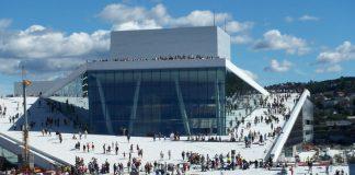 The Stunning Opera House in Oslo