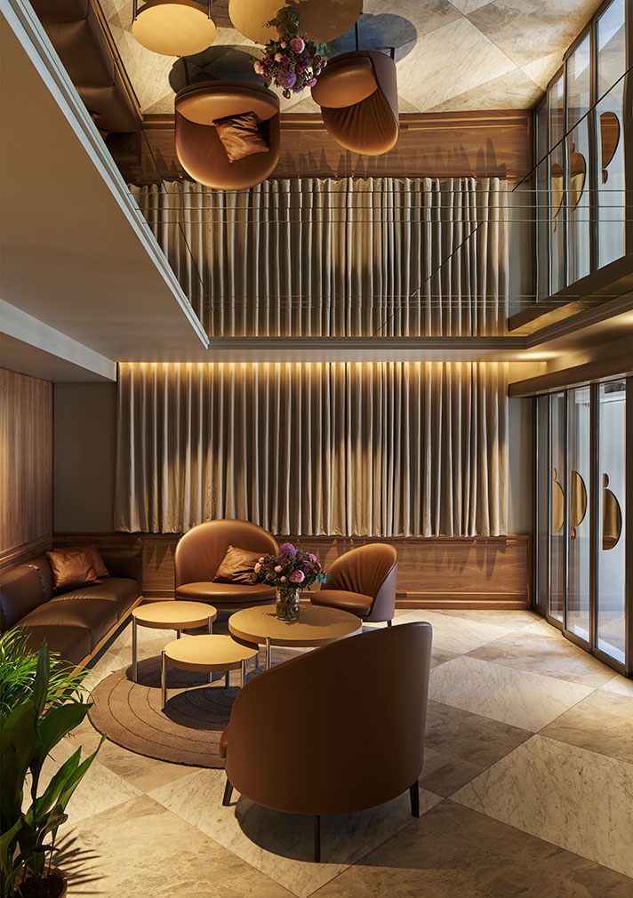 Old bergen stock exchange converted into boutique hotel for Design hotel berge