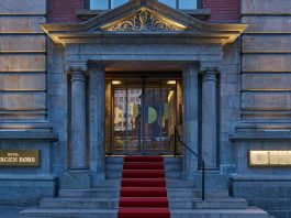 Old Bergen Stock Exchange Converted into Boutique Hotel