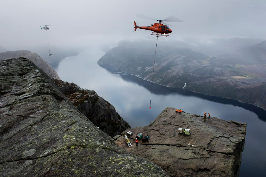 Mission Impossible Goes to Norway