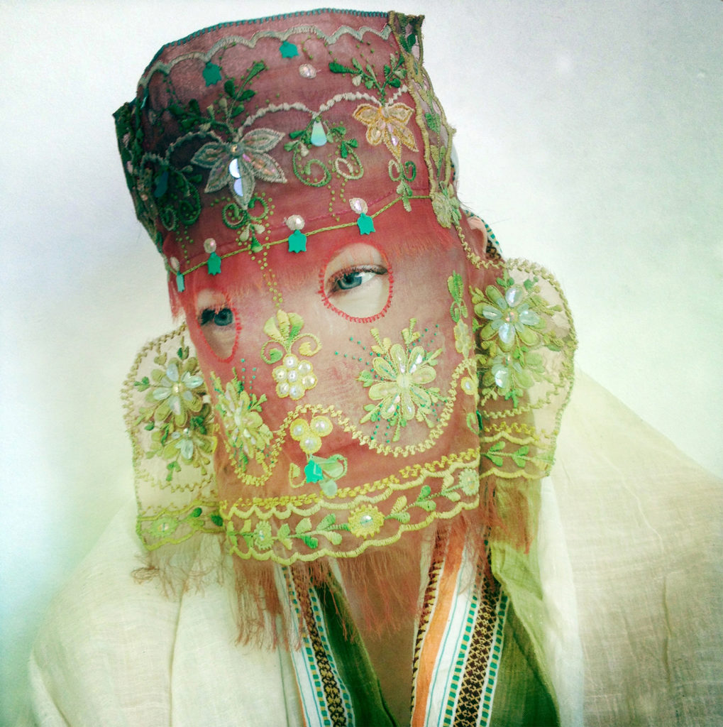 The Many Masks of Damselfrau From Norway