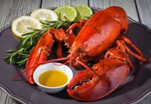 Scandinavian Lobster for New Year's Eve
