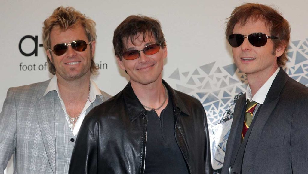 Norwegian Pop Group A-Ha Visits Copenhagen's Tivoli Festival