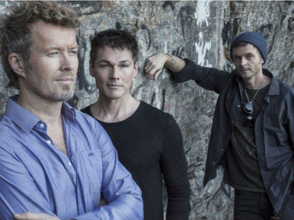 Norwegian Pop Group A-Ha Visits Copenhagen's Tivoli Festival