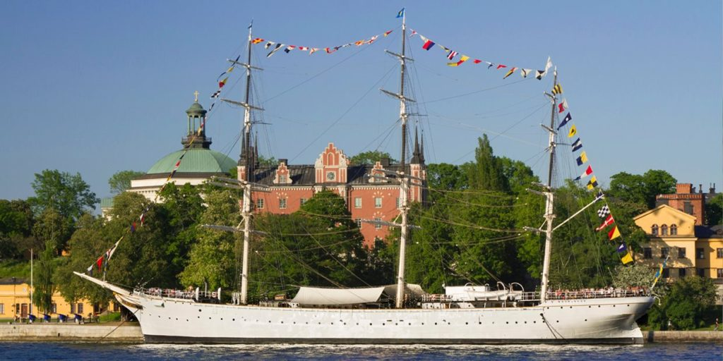 The Island of Skeppsholmen in Stockholm