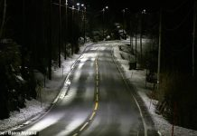 Energy Saving Road Lighting in Norway