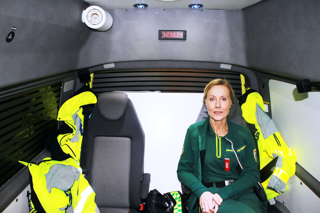 Successful Launch of World's First Mental Health Ambulance in Stockholm