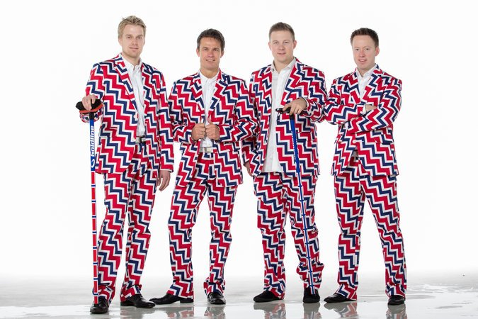 Norway's Flashing Curling Pants Are Back!