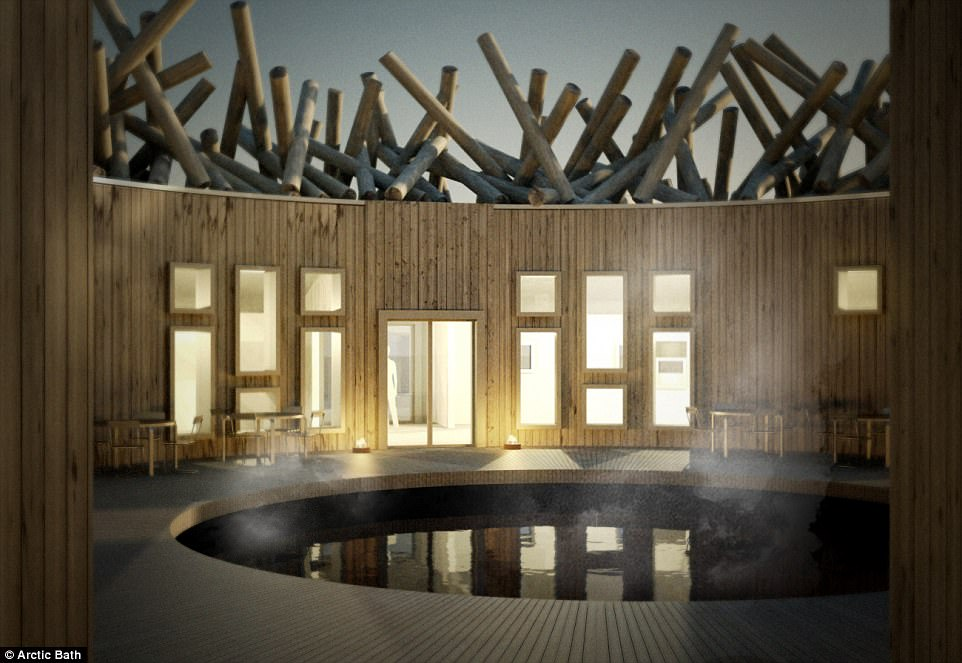 Sweden's New Floating Sauna Hotel