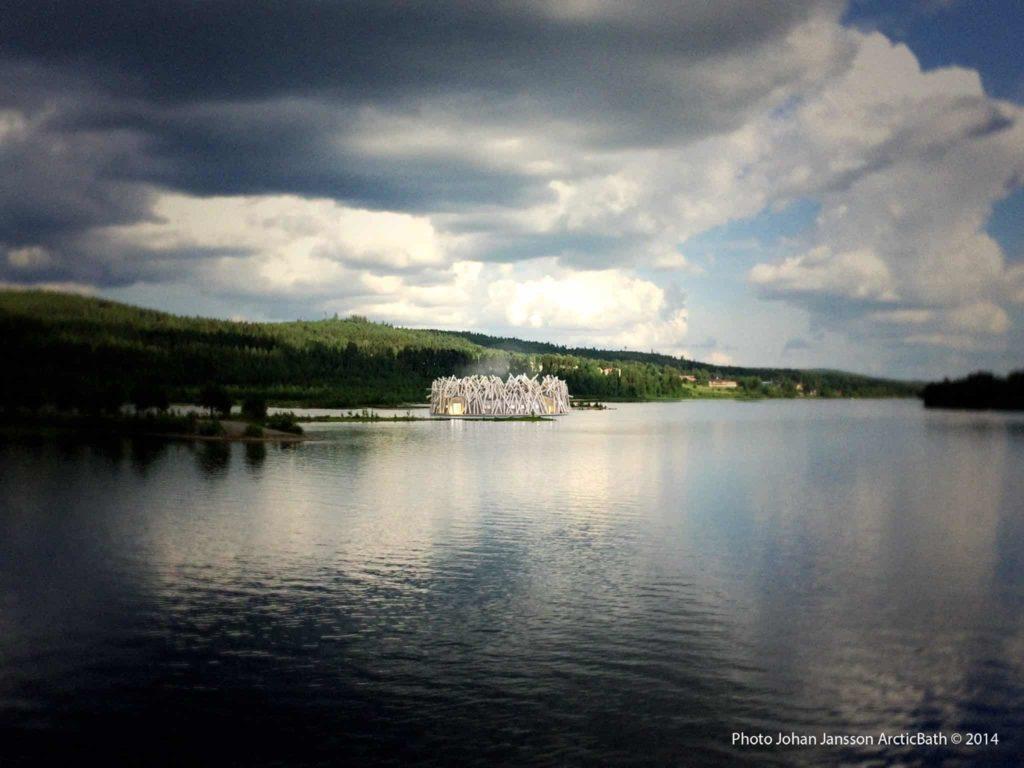 Sweden's New Floating Sauna Hotel
