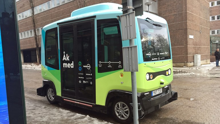 Self-Driving Buses in Sweden - Discover Scandinavia