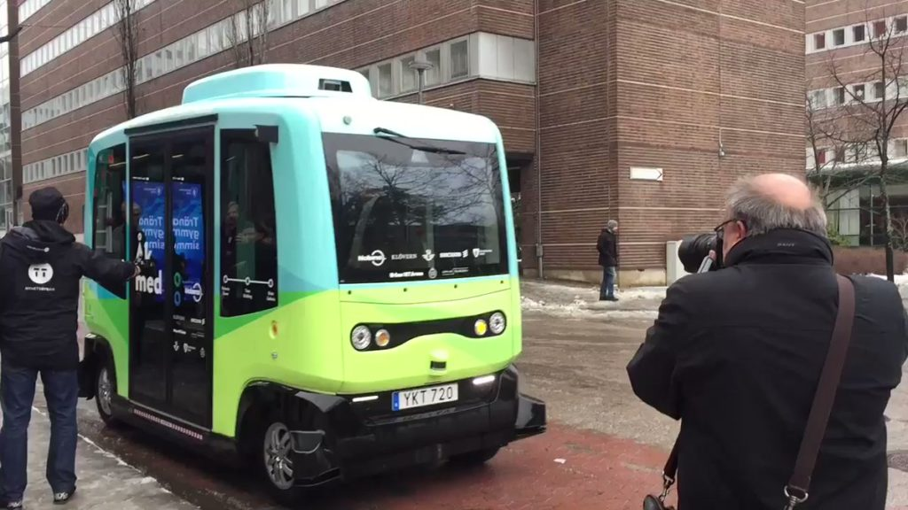 Self-Driving Buses in Scandinavia