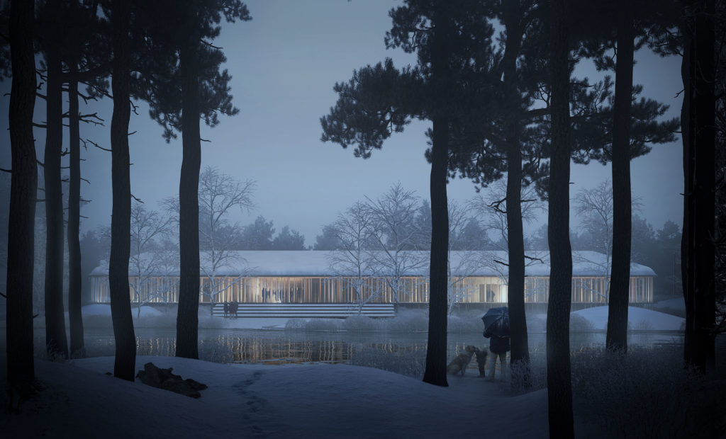 First Prize in International Architectural Competition to Danish Architects