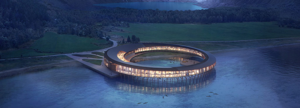 The World's Most Environmentally Friendly Luxury Hotel to be Built in Norway