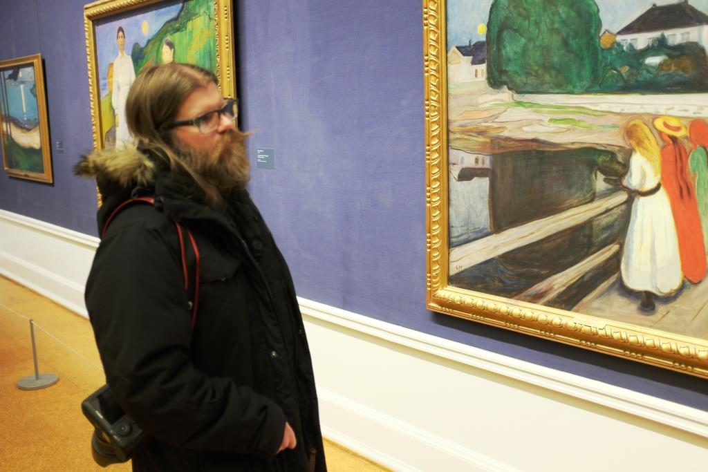 Black Metal Meets Edvard Munch in Oslo