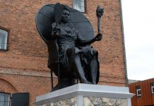 First Black Woman Monument in Copenhagen