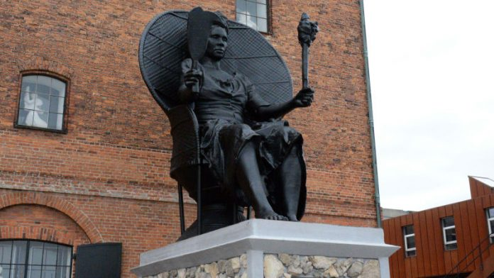 First Black Woman Monument in Copenhagen