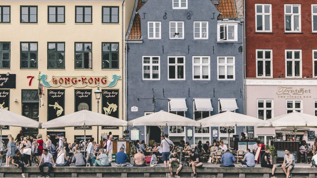 The Colorful Nyhavn Quayside in Copenhagen