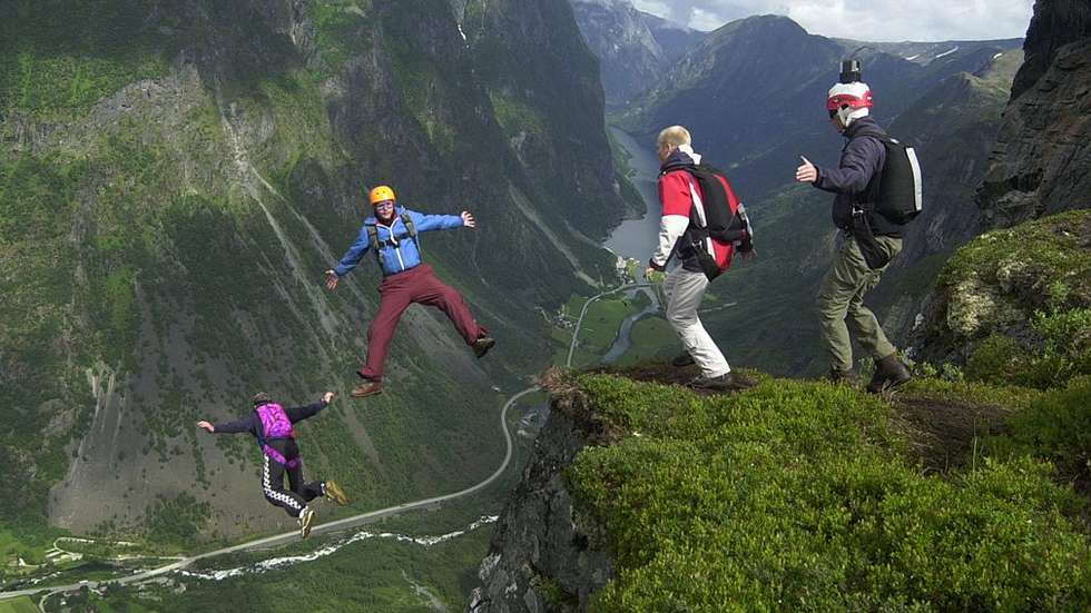 Extreme Artists at the Extreme Sports Festival in Norway