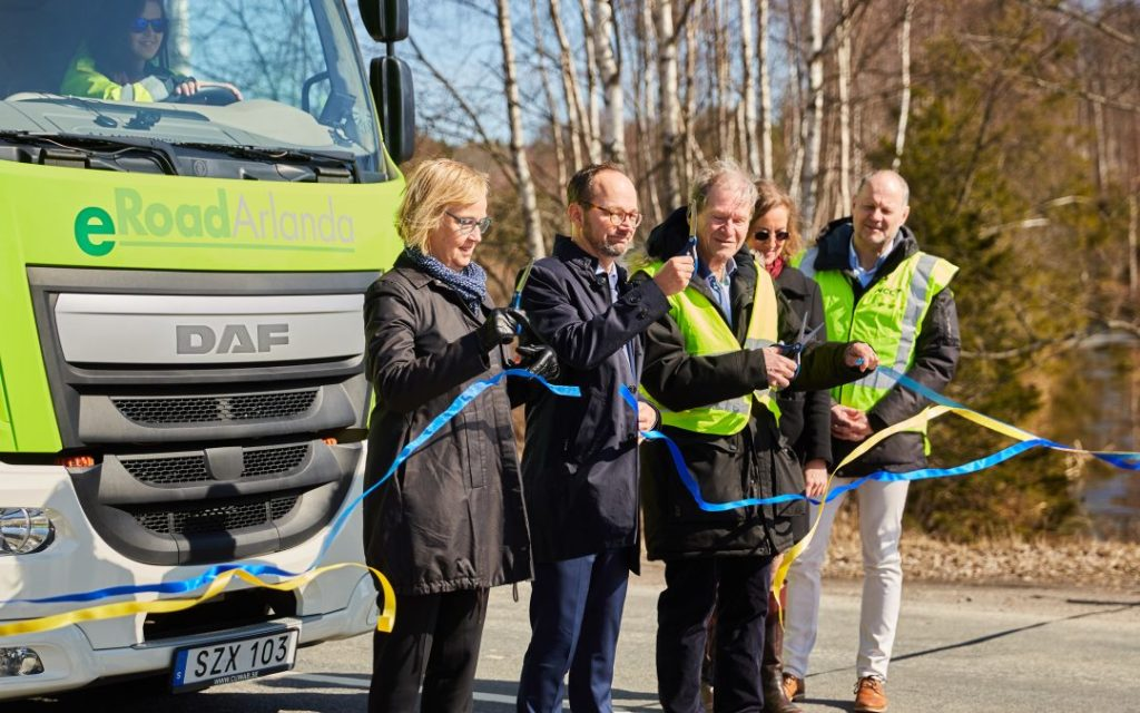 World's first electrified road opened in Sweden