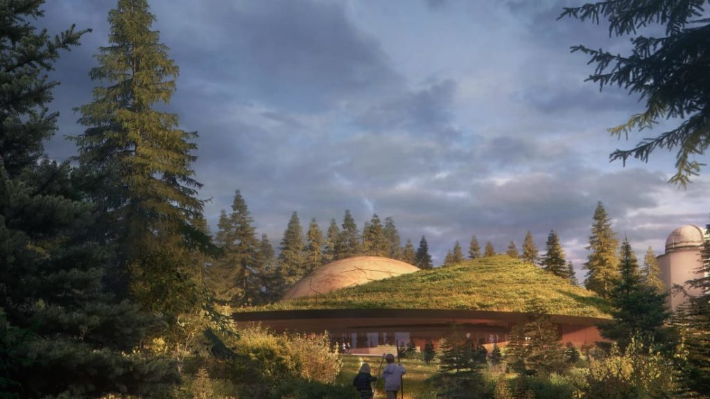 Campus for Astronomy Fans is Being Built in Norway