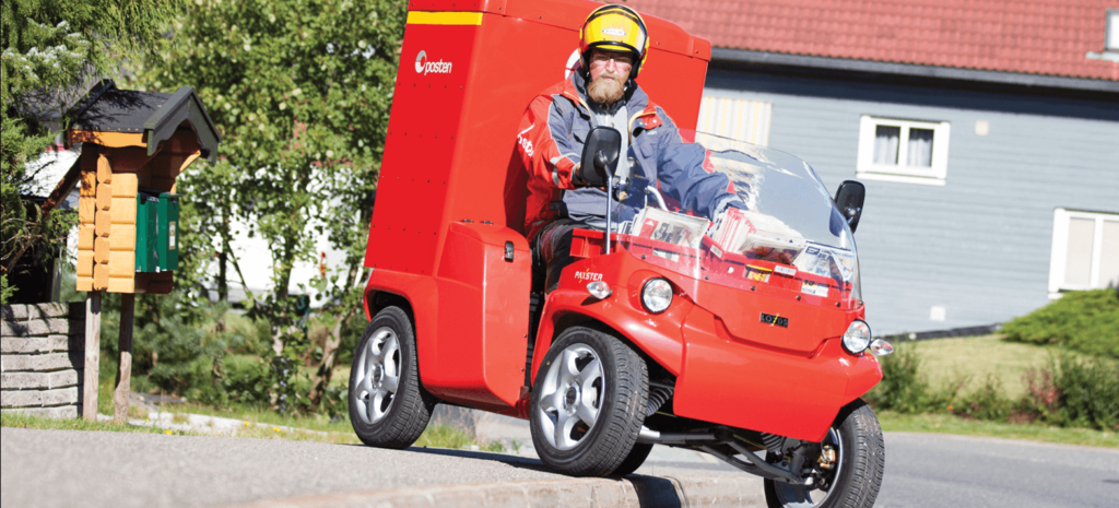 The Postman Pat Vehicle from Norway
