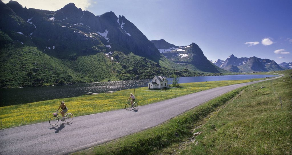 Cycling Vacation in Lofoten Islands