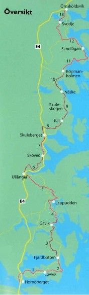 Hiking the High Coast Trail in Sweden